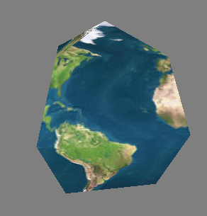 Sample Procedurally-Generated Sphere (4 slices, 4 stacks)