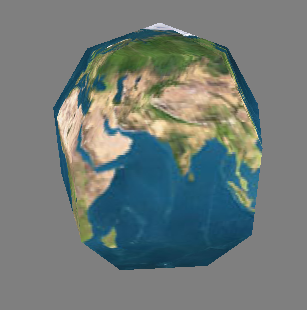 Sample Procedurally-Generated Sphere (5 slices, 5 stacks)