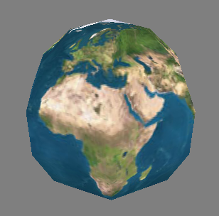 Sample Procedurally-Generated Sphere (7 slices, 7 stacks)